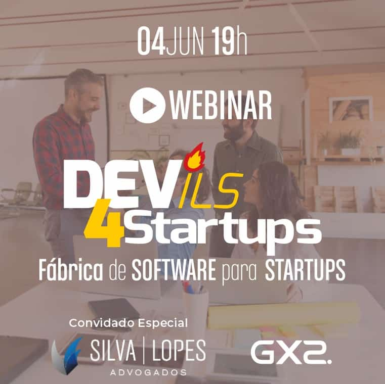 Webinar Dev4Startups acontece nesta quinta-feira
