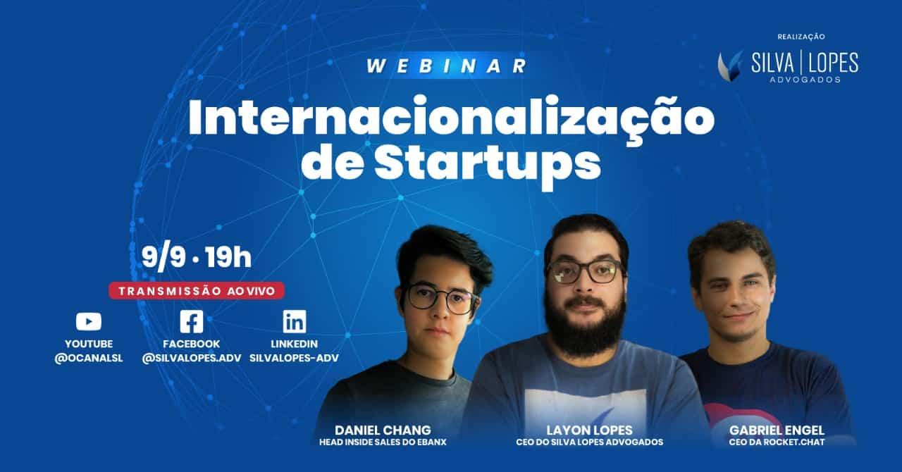 Webinar gratuito debate a internacionalização de startups no próximo dia 9