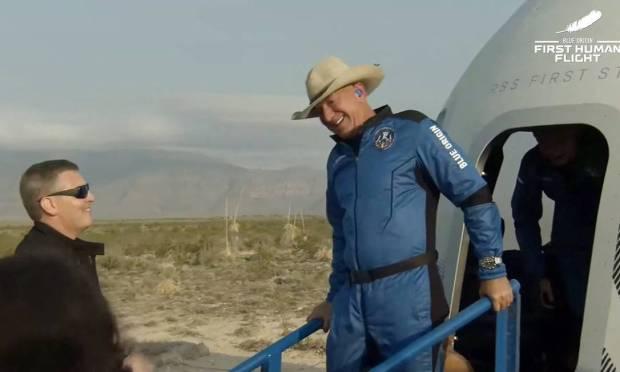 Voo da Blue Origin é realizado com sucesso