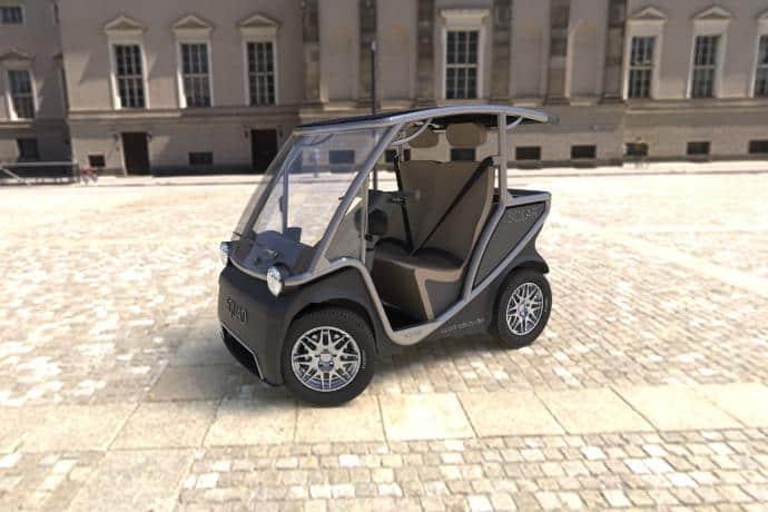 Carro criado por startup holandesa é movido somente a energia solar